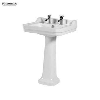 Phoenix Victoriana Traditional Bathroom Basin