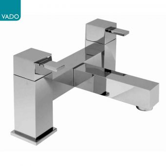 Vado Te Deck Mounted Bath Filler Taps