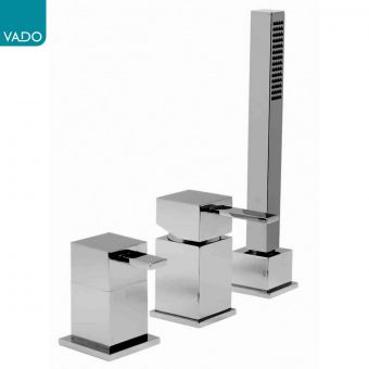 Vado Te 3 Hole Bath Filler Set