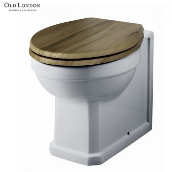 Old London Richmond Back to Wall Toilet with Soft Close  Seat