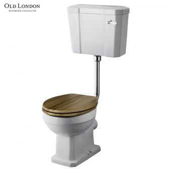 Old London Richmond Toilet with Low Level Cistern - CCR022