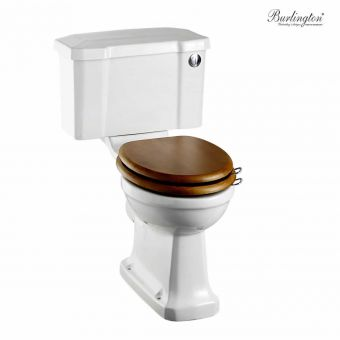 Burlington Regal Close Coupled Toilet Suite with Push Button
