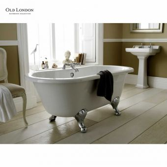 Old London Kingsbury Traditional Double Ended Freestanding Bath