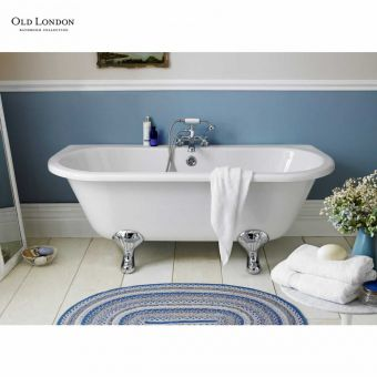 Old London Kenton Traditional Back to Wall Freestanding Bath
