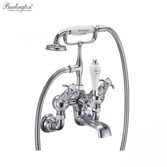 Burlington Anglesey Regent Wall Mounted Angled Bath/Shower Mixer