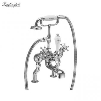 Burlington Birkenhead Deck Mounted Angled Bath/Shower Mixer