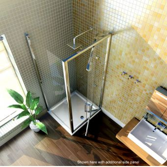 Merlyn Series 8 Infold Shower Door