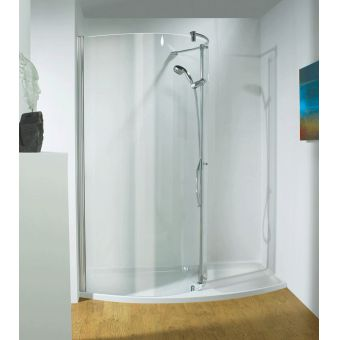 Kudos Ultimate Curved Recess Walk-in Shower Enclosure