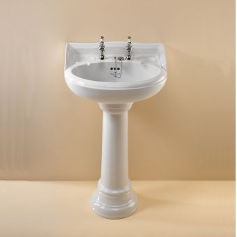 Silverdale Nouveau 580mm Traditional Basin
