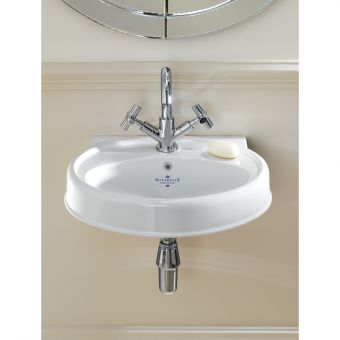 Silverdale Highgrove Traditional 490mm Cloakroom Basin