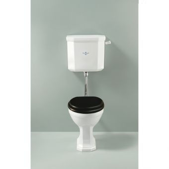 Silverdale Empire Traditional Low Level Toilet