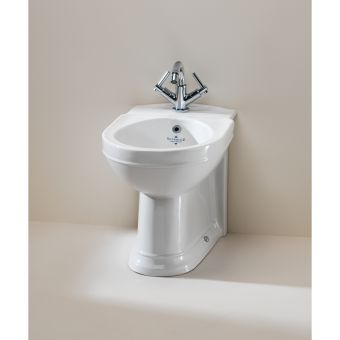 Silverdale Damea Traditional Back To Wall Bidet