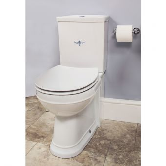 Silverdale Damea Traditional Close Coupled Toilet