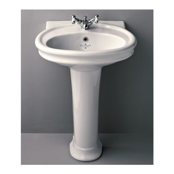 Silverdale Hillingdon 600mm Traditional Basin