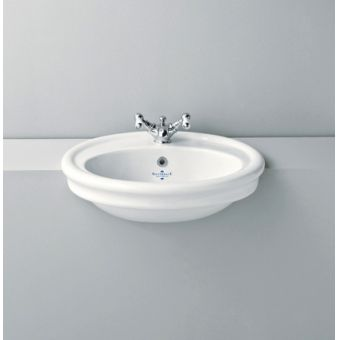 Silverdale Hillingdon 600mm Semi Countertop Basin