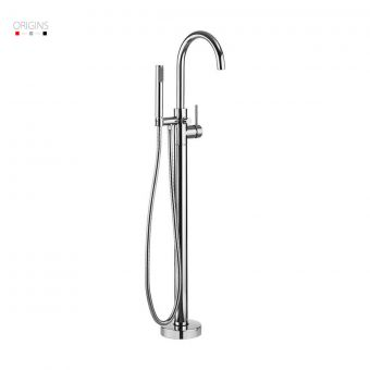 Origins Fusion Floor Standing Bath Shower Mixer