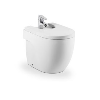 Roca Meridian-N Floor Standing Back to The Wall Compact Bidet