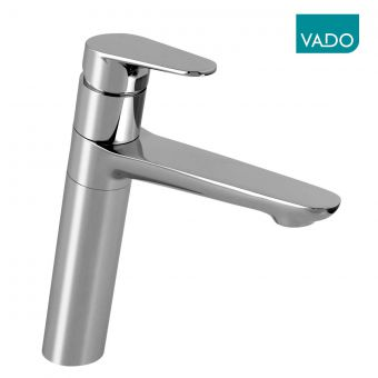 Vado Ascent Tall Basin Mixer Tap with Swivel Spout