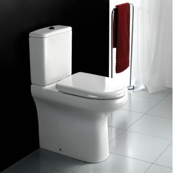 RAK Compact Deluxe Comfort Height Close Coupled Toilet