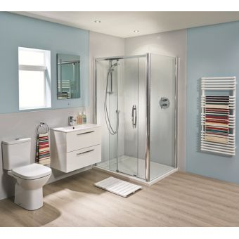 Bushboard Nuance Corner Shower Board Pack 2400mm