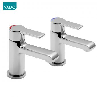 Vado Ion Bath Pillar Taps