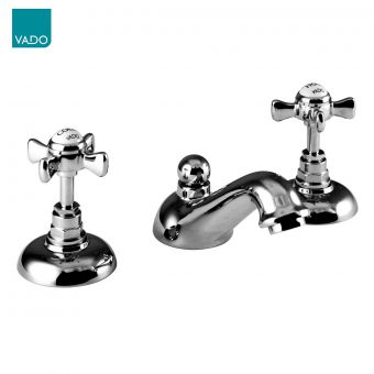 Vado Wentworth 3 Hole Basin Mixer