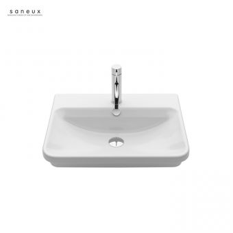 Saneux Project 550mm Recessed Washbasin