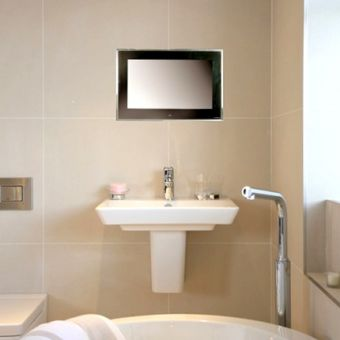 Aquavision 32 inch Framed Waterproof LED TV Buy Bathroom Televisions  UK Bathrooms