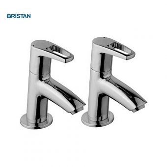 Bristan Smile Basin Taps - SM 1/2 C