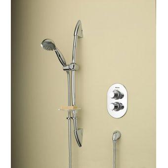 Bristan Artisan Thermostatic Recessed Shower Valve - AR3 SHCMT C