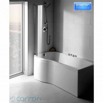 Carron Sigma 1800 x 750mm P Shaped Shower Bath