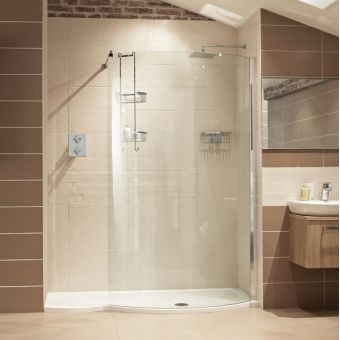 Roman Lumin8 Colossus 1700mm Shower Enclosure