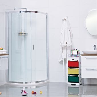 Roman Lumin8 One Door Quadrant Shower Enclosure