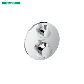 Hansgrohe Ecostat S Concealed Thermostatic Shower Mixer Valve