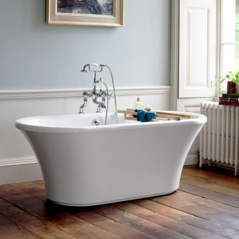 Burlington Brindley Double Ended Freestanding Bath