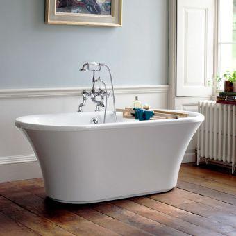 Burlington Brindley Double Ended Freestanding Bath - E5/E12