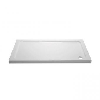 April 45mm Rectangular Stone Resin Shower Tray - 1500 to 1700mm