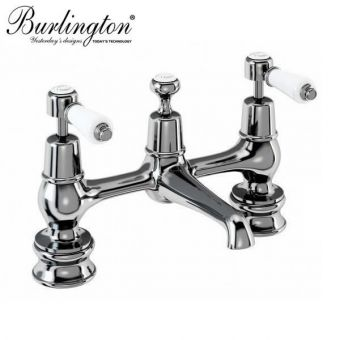 Burlington Kensington H Type Basin Mixer Taps
