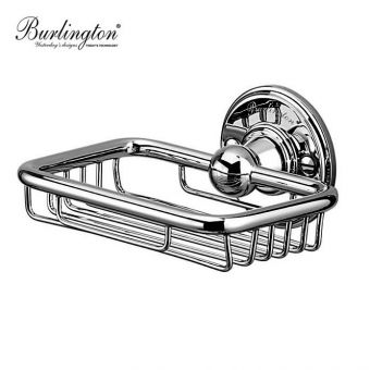 Burlington Chrome Soap Basket