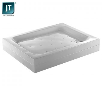 Just Trays Merlin Flat Top Square Shower Tray