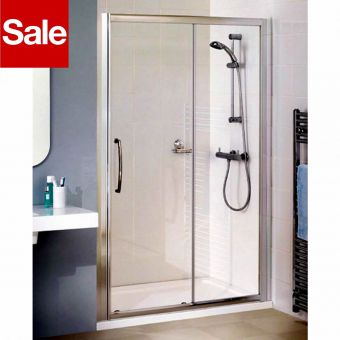 Lakes 1000mm Semi Frameless Sliding Door