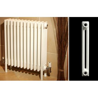 Apollo Roma 2 Column Radiator & Welded Feet 600(h)mm
