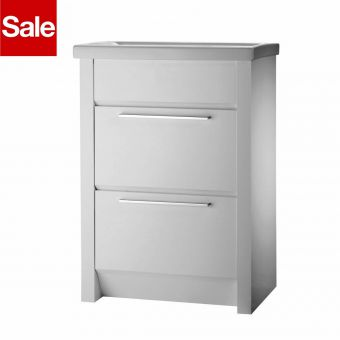 Roper Rhodes Kato 700mm White Floorstanding Unit without Basin