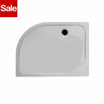 Merlyn MStone 1200 x 900mm Right Handed Quadrant Shower Tray