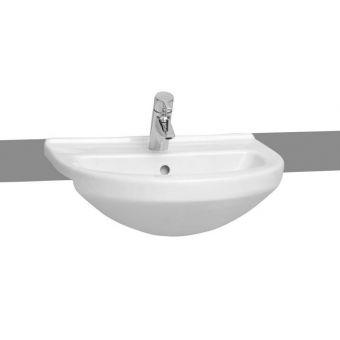 VitrA S50 Round Semi-Recessed Basin - 5307WH