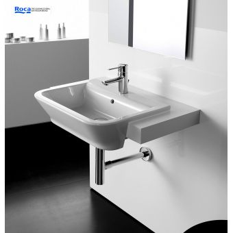 Roca The Gap Semi-Recessed Basin 560mm