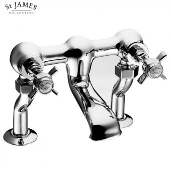 St James Traditional Deck Mounted Bath Filler Tap