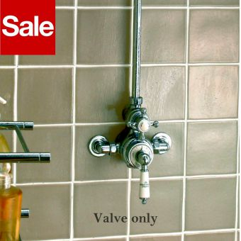 Imperial Victorian Exposed Thermostatic Dual Shower Valve