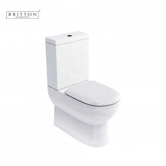Britton Compact Close Coupled WC