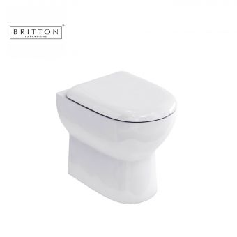 Britton Compact Back To Wall Pan